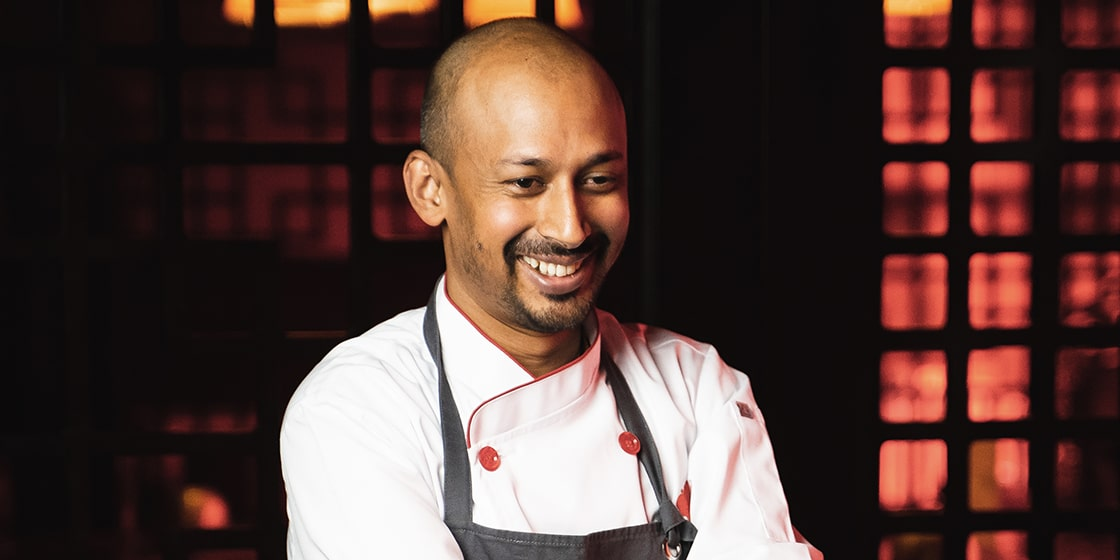 Meet Chef Bobby, the man behind the Indian cookbook for fine dining...